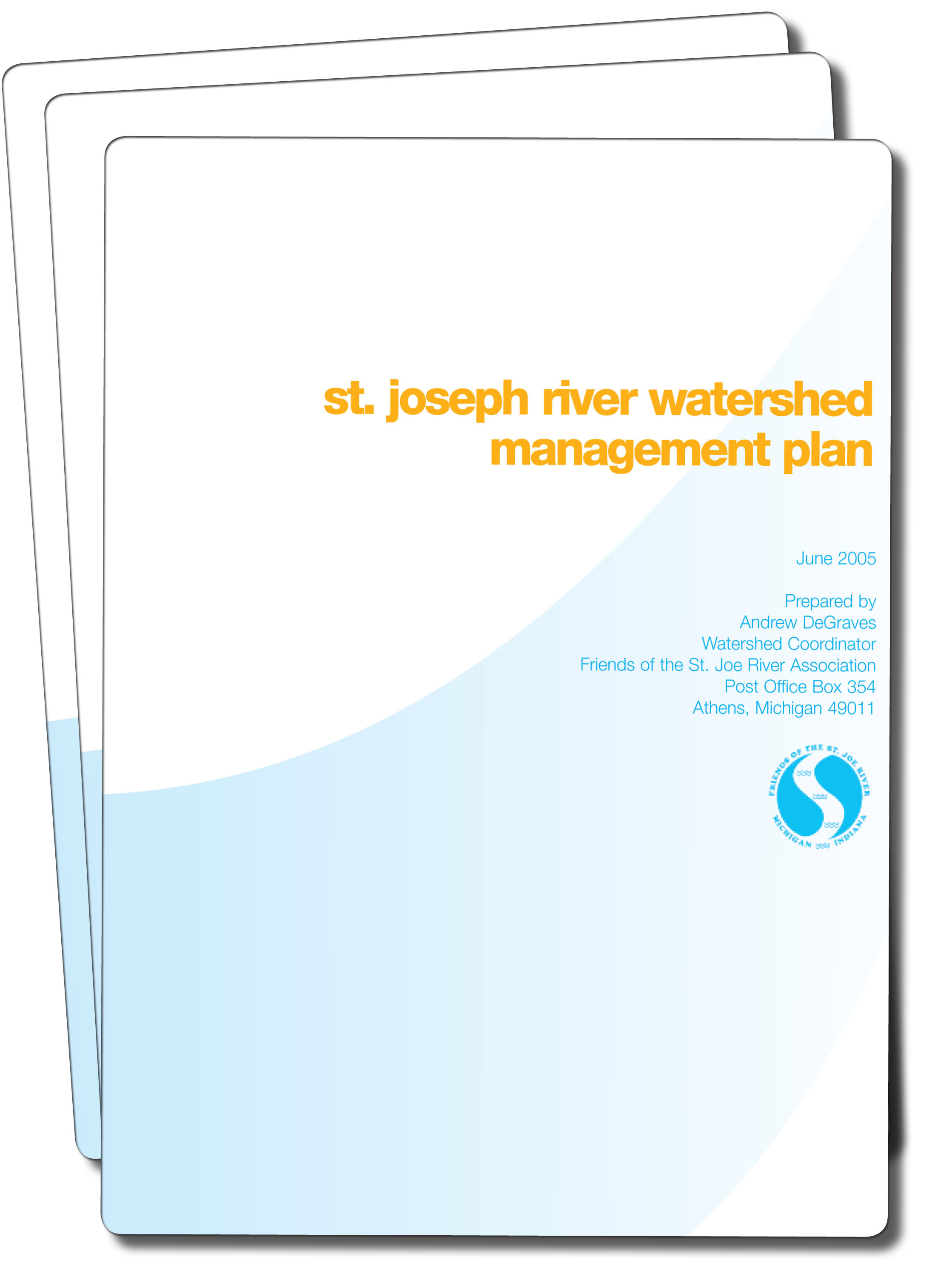 Download a PDF copy of the St. Joseph River WMP (11 MB)